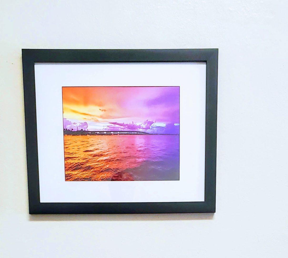 Black frame 20x16